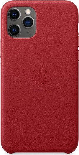 Apple Leder Case für iPhone 11 Pro rot (MWYF2ZM/A)