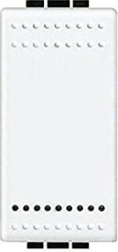 Bticino LivingLight Wippe 1-modulig, weiß (N4911)