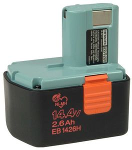 Hitachi EB1426H Power tool battery 14.4V, 2.6Ah, NiMH