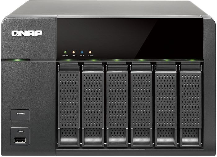 Qnap Turbo station TS-669L, 2x Gb LAN