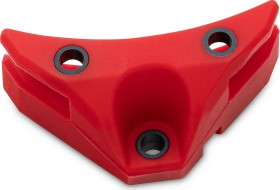 EK Water Blocks EK-Vardar X3M Damper Pack red, Vibrationsdämpfer