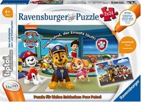 Ravensburger tiptoi Puzzle: Puzzle für kleine Entdecker: Paw Patrol (00069)