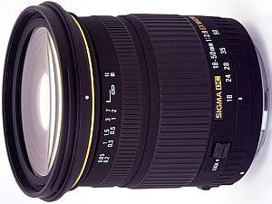 Sigma AF 18-50mm 2.8 EX DC macro HSM for Nikon F black (582955)