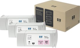HP Tinte 81 magenta hell, 3er-Pack (C5071A)
