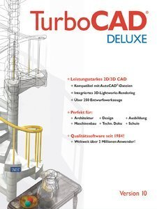 IMSI TurboCAD 10.0 DeLuxe (PC)