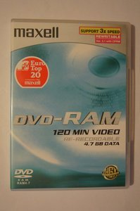 Maxell DVD-RAM Disk 4.7GB 3x -- © bepixelung.org