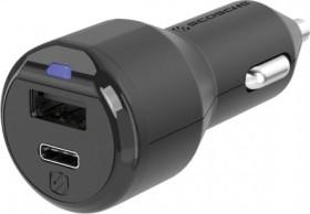 Scosche powerVOLT 3.0 30W USB-C & USB-A car Charger (CPDA2C8-SP)