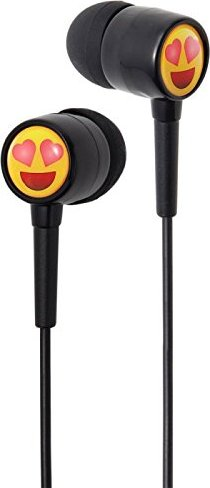 groov-e EarMOJI's DJ Style Stereo Headphones - Heart Eyes Face schwarz (GVEMJ13) -- via Amazon Partnerprogramm