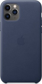 Apple Leder Case für iPhone 11 Pro mitternachtsblau (MWYG2ZM/A)