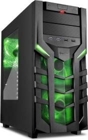 Sharkoon DG7000 grün, Acrylfenster