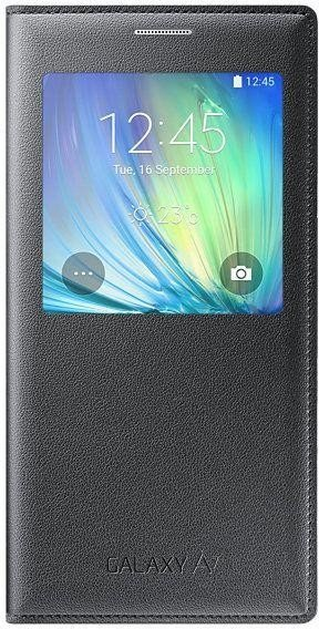 Samsung EF-CA700BC S-View Cover for Galaxy A7 dark grey