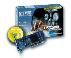 Elsa Gladiac MX, GeForce2 MX, 32MB AGP, retail (00542)