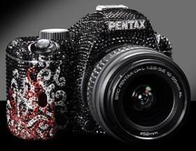 Pentax K-m Crystal mit Objektiv DA L 18-55mm