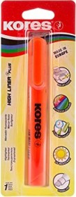 Kores High Liner Plus Textmarker orange, Blister (TM36014)