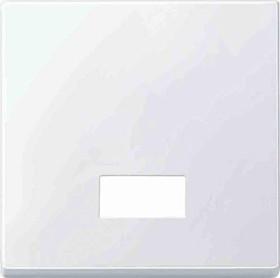 Merten System M Wippe Thermoplast edelmatt, polarweiß (433819)