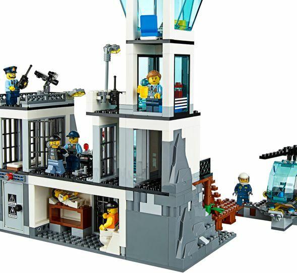 LEGO® City 60130 Polizeiquartier auf der Gefängnisinsel NEU OVP