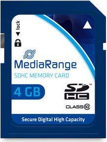 MediaRange R15 SDHC 4GB, Class 10 (MR961)