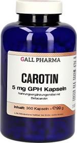 carotene 5mg GPH capsules, 360 pieces