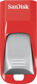 SanDisk Cruzer Edge rot/silber 16GB, USB-A 2.0 (SDCZ51-016G-B35RG)