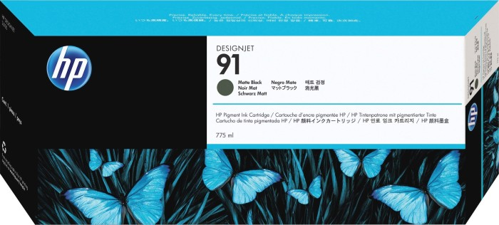 HP ink Nr 91 black matte (C9464A)