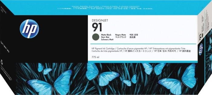 HP 91 Tinte schwarz matt (C9464A)