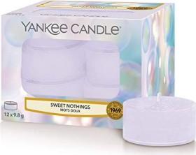 Yankee Candle Sweet Nothings Teelicht Duftkerze, 12 Stück