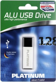 BestMedia Platinum HighSpeed ALU 128GB, USB-A 3.0 (177589)
