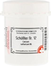 Apofaktur Schüßler Nr. 12 Calcium sulfuricum D6 Tabletten, 1000 Stück