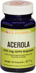 Acerola 500mg GPH Kapseln, 60 Stück