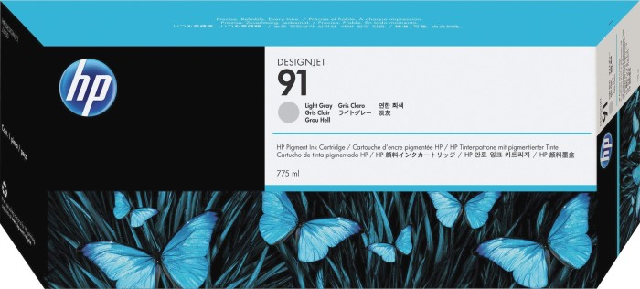 HP 91 Tinte grau hell (C9466A)
