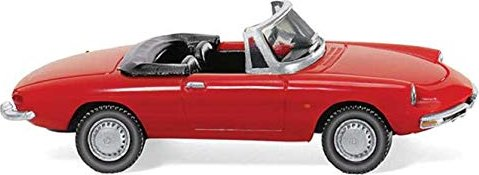 Wiking 020601-1//87 Alfa Spider rot