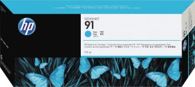 HP Tinte 91 cyan (C9467A)