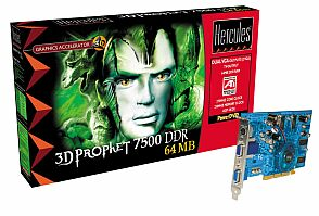 Guillemot / Hercules 3D Prophet Radeon 7500, 64MB DDR, VGA, TV-out (4780200)