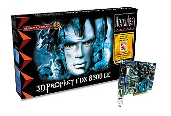 Guillemot / Hercules 3D Prophet FDX 8500 LE, Radeon 8500LE, 128MB DDR, DVI, TV-out, AGP, retail (4780199)