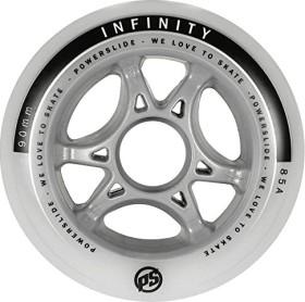Powerslide Infinity II inline skate wheels 80mm white, 4 pieces (905228)
