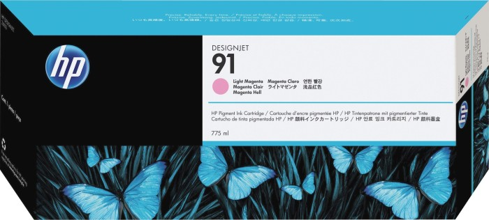 HP 91 Tinte magenta hell (C9471A)