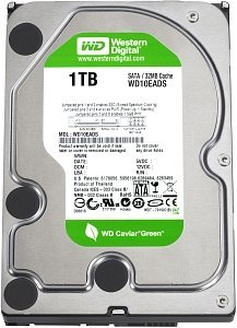 Western Digital Caviar Green 1000GB, 32MB cache, SATA 6Gb/s (WD10EADX)