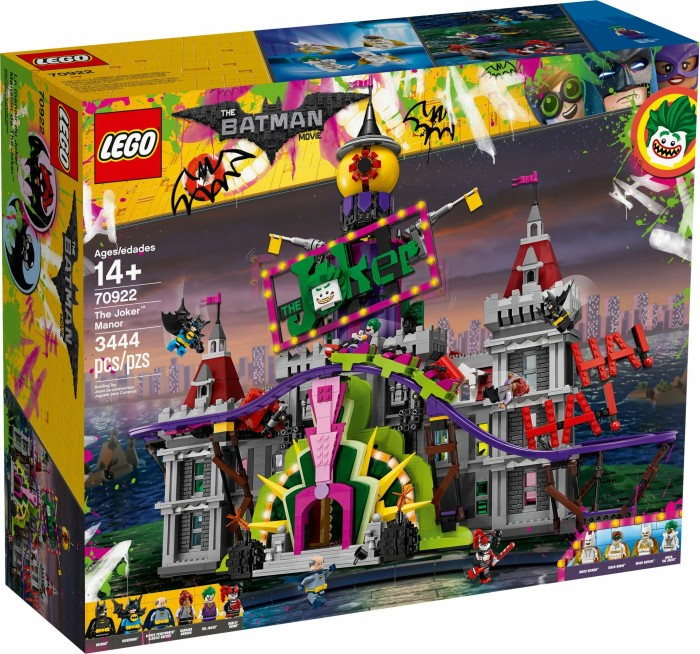 Lego The Lego Batman Movie The Joker Manor 70922