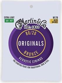 Martin Traditional 80/20 Bronze Extra Light (M170)