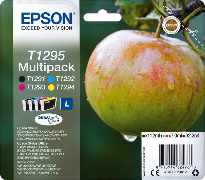 Epson T1295 ink multipack (C13T12954010)