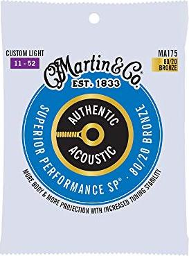 Martin M175 guitar strings -- via Amazon Partnerprogramm