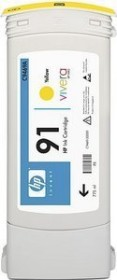 HP ink 91 yellow, 3-pack (C9485A)