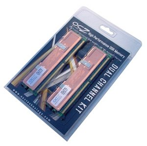 OCZ DIMM kit 512MB, DDR-533, CL2.5-4-4-7-2T