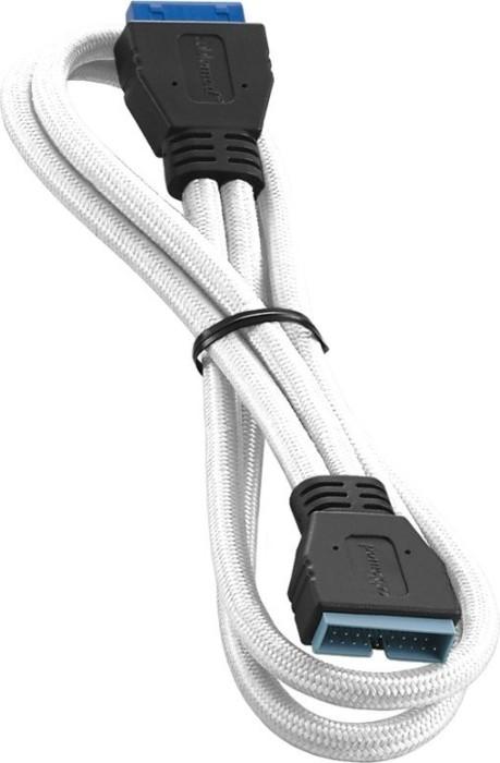 CableMod ModFlex internal USB 3.0 extension, white, 50cm (CM-CAB-IUS3-50KW-R)