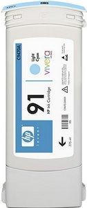 HP Tinte 91 cyan hell, 3er-Pack (C9486A)