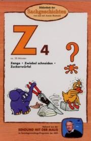 Bibliothek der Sachgeschichten: Z4 - Zange, Zwiebel schneiden, Zuckerwürfel (DVD)