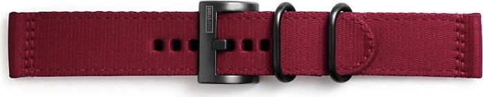 Samsung Textil Armband Field für Gear S3 rot (GP-R765BREEJAA)