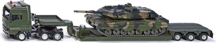 SIKU Militärtransporter mit Panzer (8612)