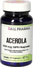 Acerola 500mg GPH Kapseln, 30 Stück