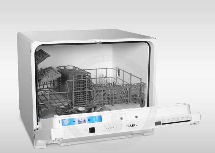 aeg electrolux f55200vi0 kompakt geschirrsp ler. Black Bedroom Furniture Sets. Home Design Ideas